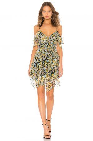 Kendall + Kylie Floral Wrap Dress