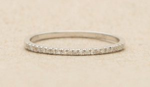 Etsy 14k Gold Stacking Band