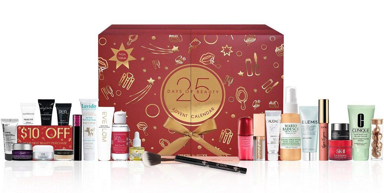 Macys 25 Days of Beauty Advent Calendar Created for Macys 2020