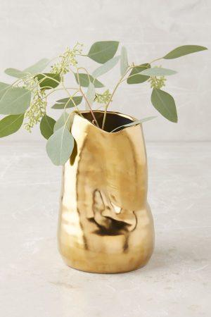 Goldshine vase from Anthropologie Finds Under $100