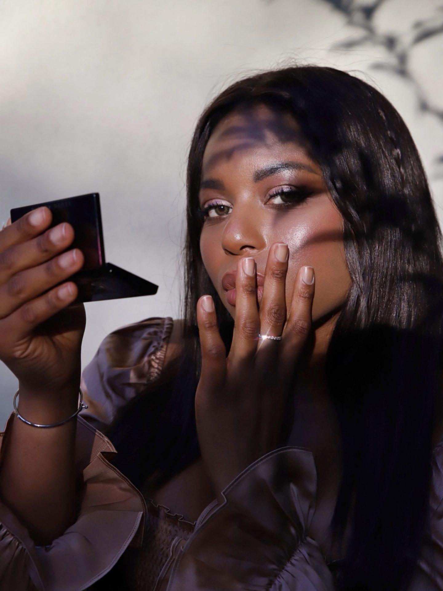 Blue Nile Diamond Blogger Stackable Ring Kaye Bassey