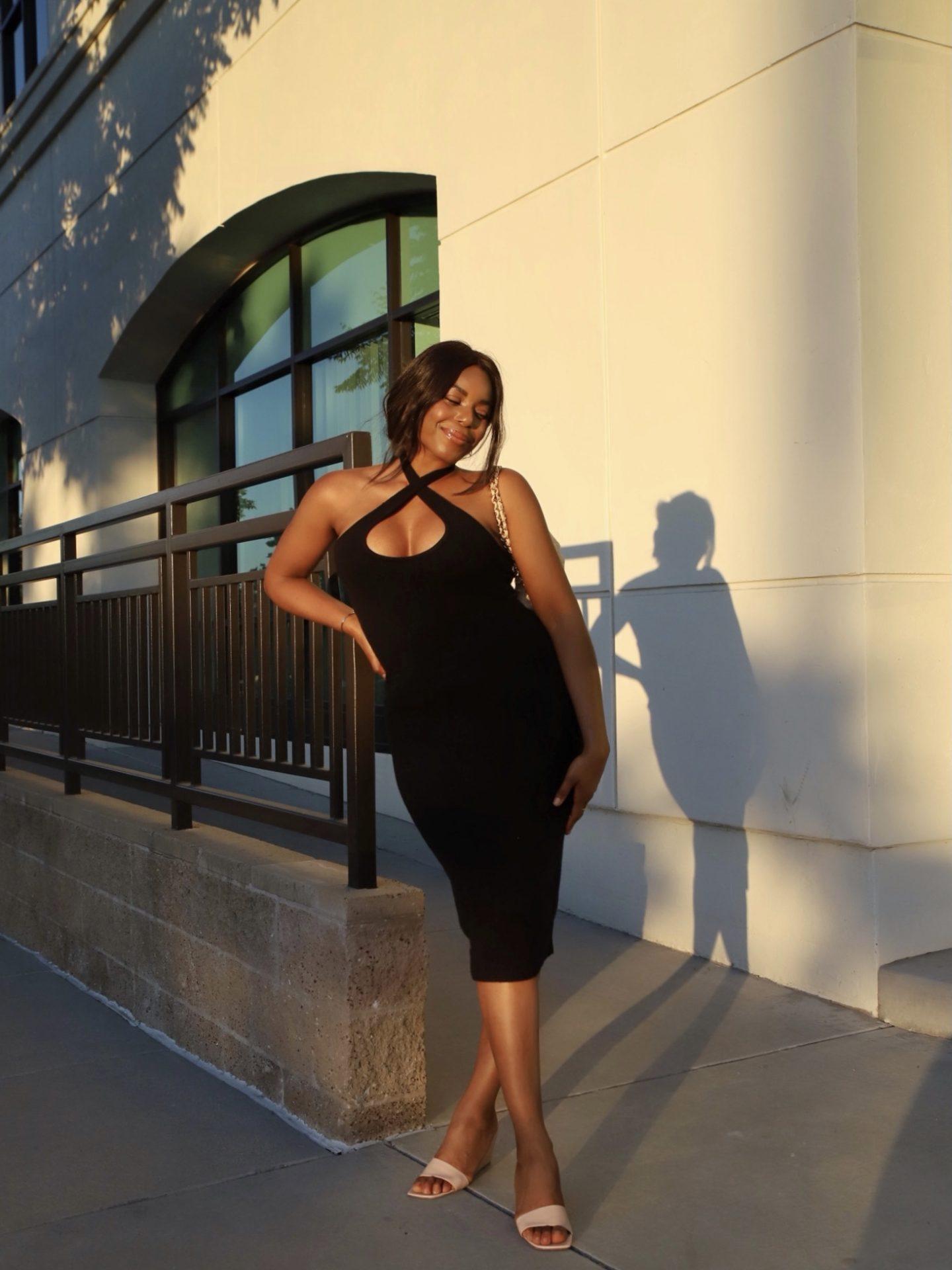 Revolve LPA Alyssa Dress Kaye Bassey LA Blogger