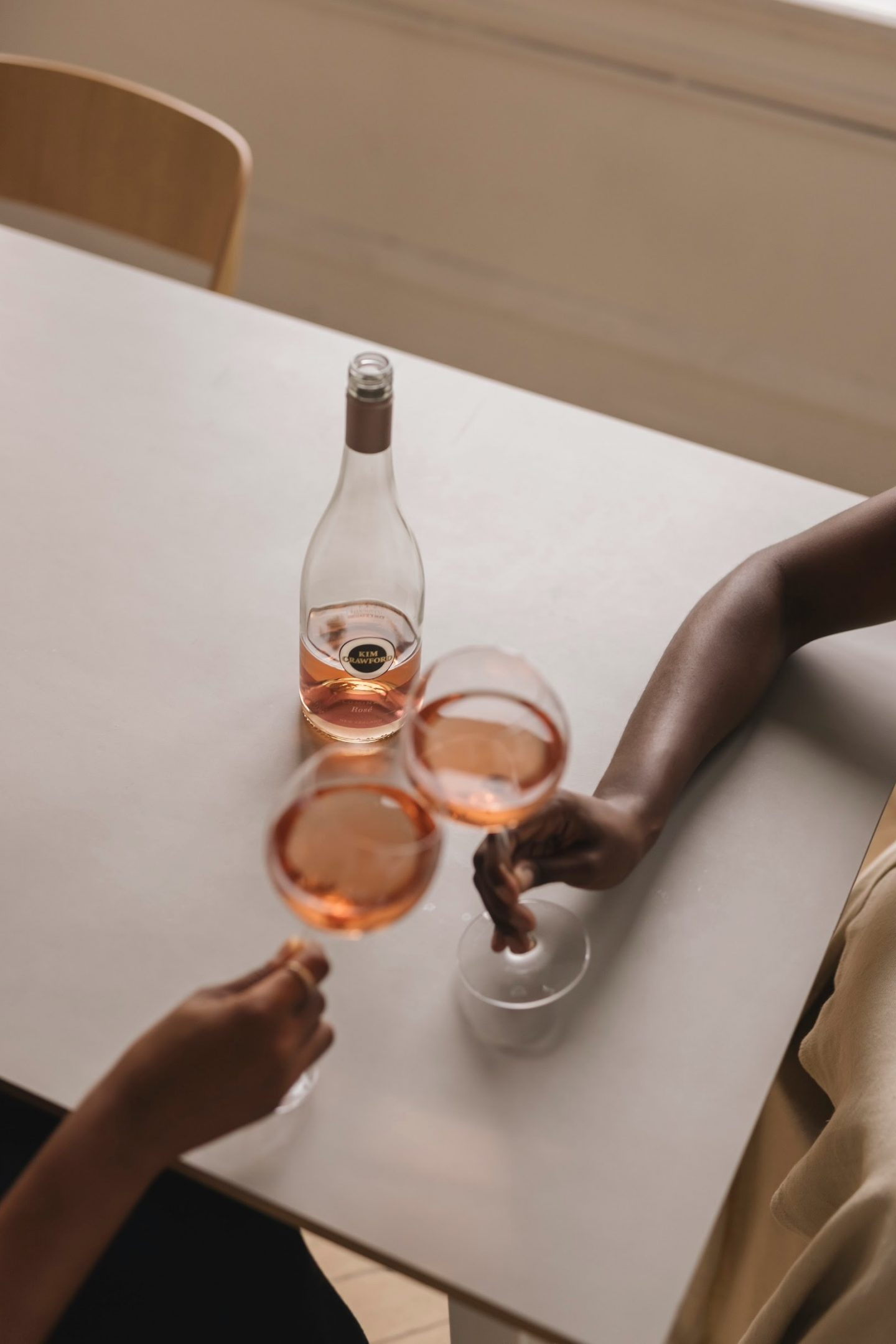 Cheers with the Kim Crawford Rose Wine