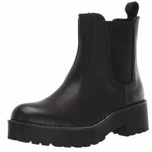 Amazon Pre-Fall Fashion Favorite: Women's Chunky Ankle Bootie with Lugsole in black