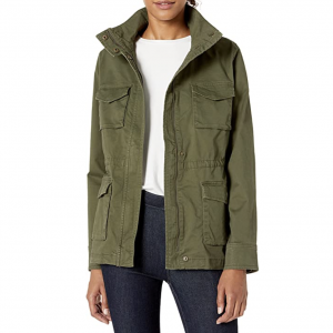 Amazon Pre-Fall Fashion Favorite: Military Green Utility Jacket - Women's