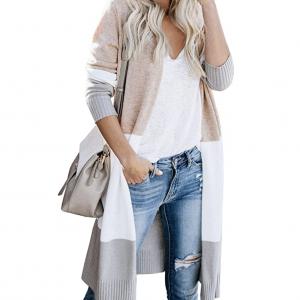 Amazon Pre-Fall Fashion Favorites: Women's Longline color block cardigan
